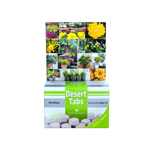 Slow Release Fertilizer Tablet Box for the Plants